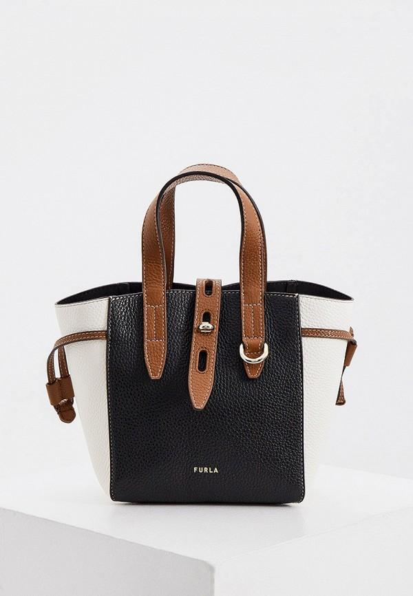 женская сумка-тоут furla, разноцветная