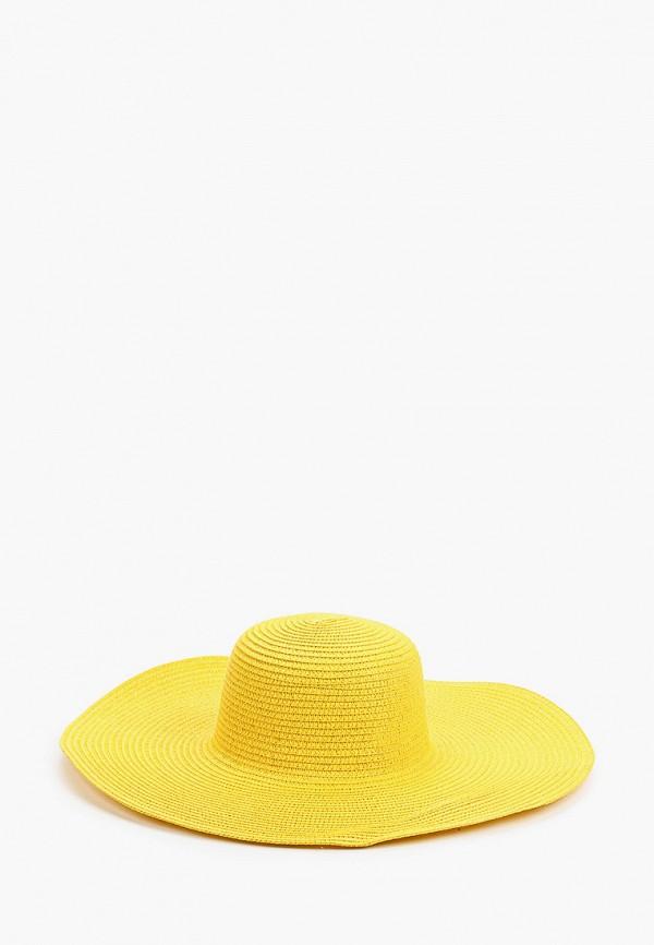 женская шляпа mon mua, желтая