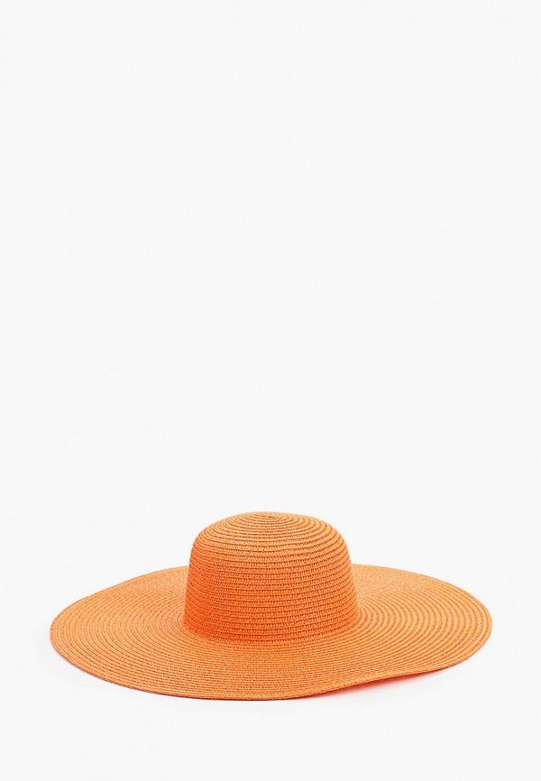 женская шляпа mon mua, оранжевая