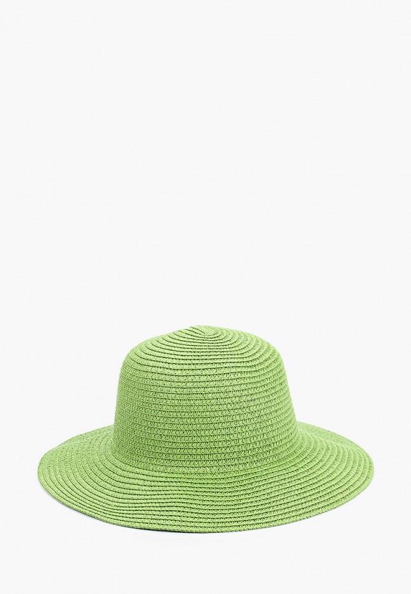 женская шляпа mon mua, зеленая