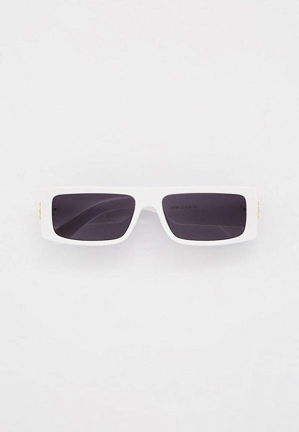женские квадратные солнцезащитные очки mon mua, белые