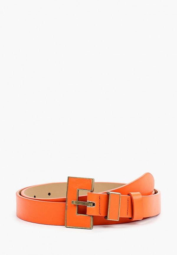 женский ремень mon mua, оранжевый