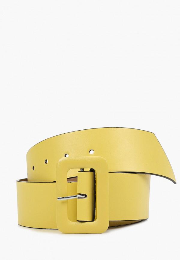 женский ремень mon mua, желтый