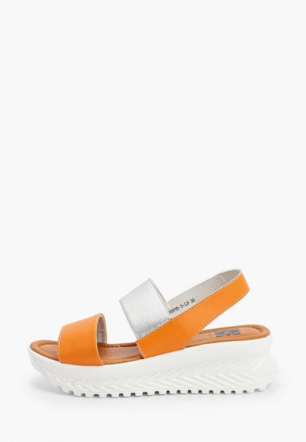 женские сандалии ng, оранжевые