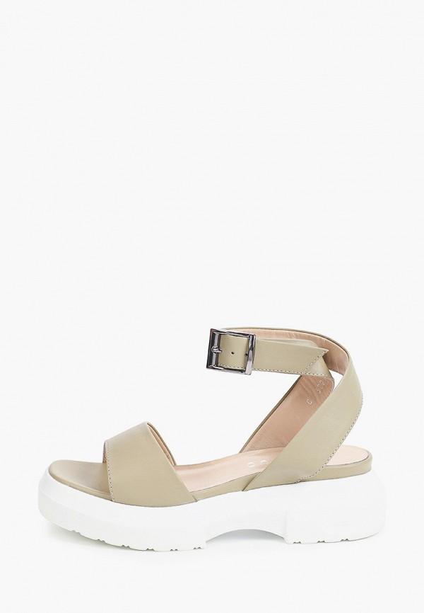 женские сандалии gresco, хаки