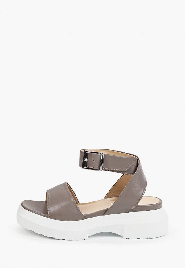 женские сандалии gresco, серые