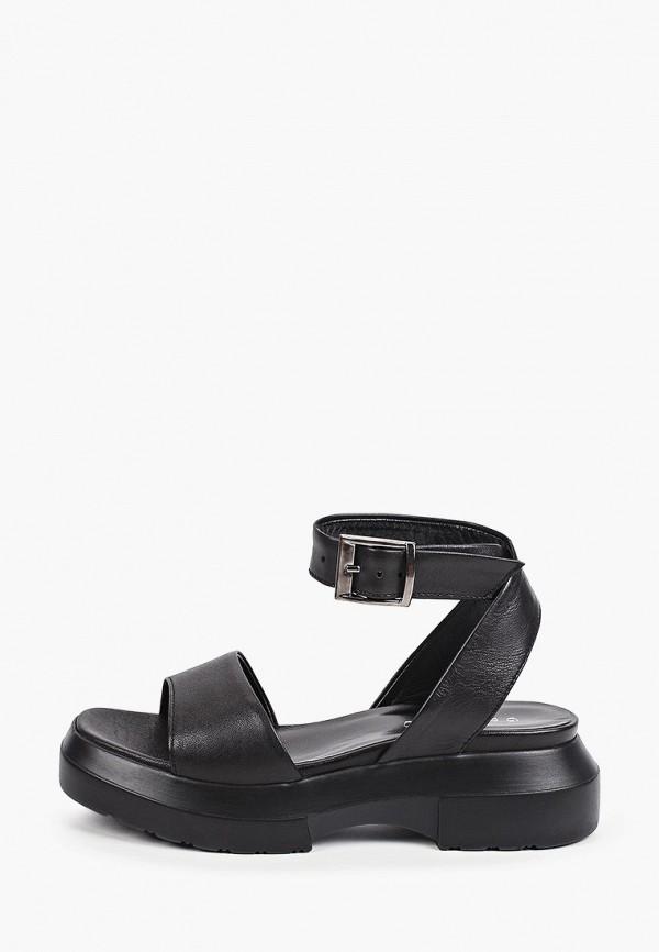 женские сандалии gresco, черные