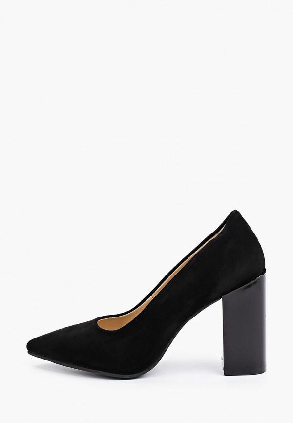 женские туфли с закрытым носом gresco, черные
