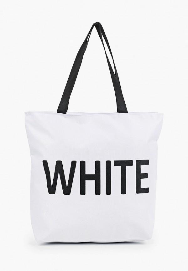 женская сумка-шоперы mon mua, белая