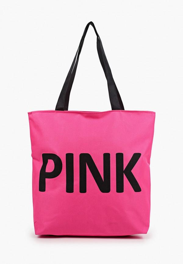 женская сумка-шоперы mon mua, розовая