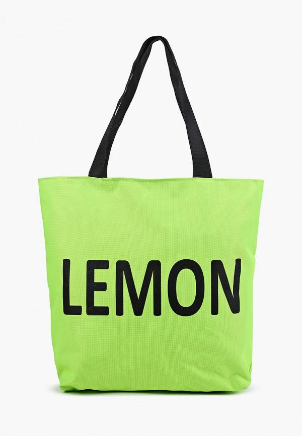 женская сумка-шоперы mon mua, зеленая