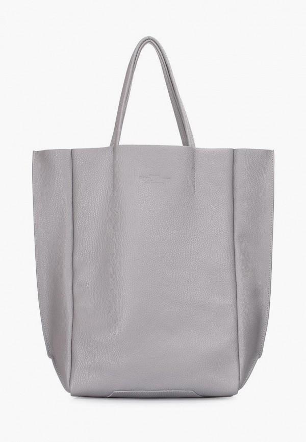 женская сумка poolparty, серая
