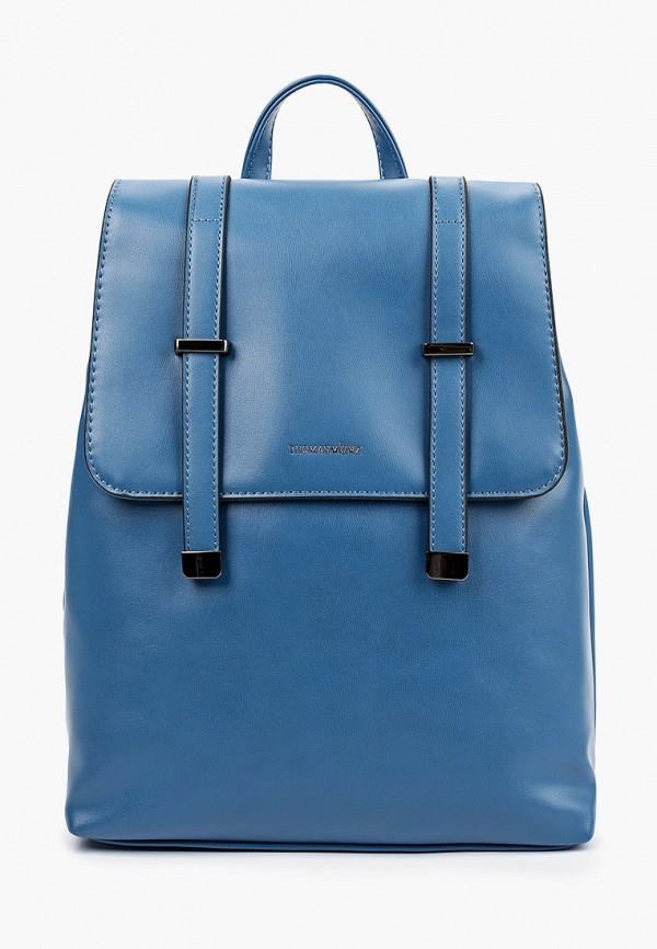 женский рюкзак thomas munz, синий