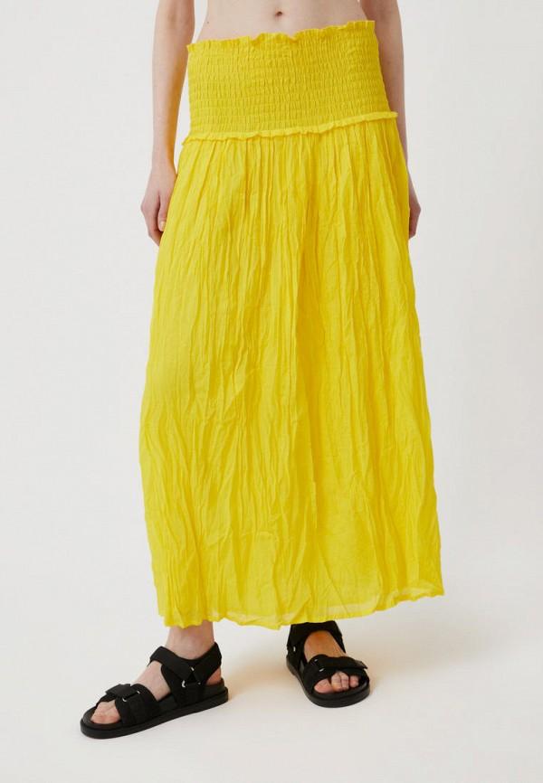 Юбка Finn Flare желтого цвета