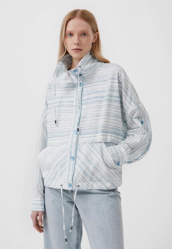 Куртка Finn Flare голубого цвета