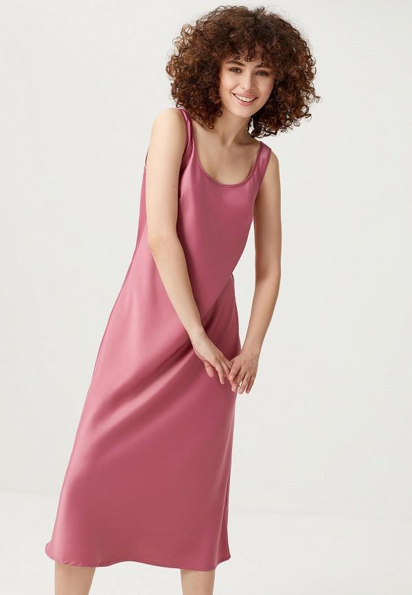 Платье Sela Sela  розовый фото