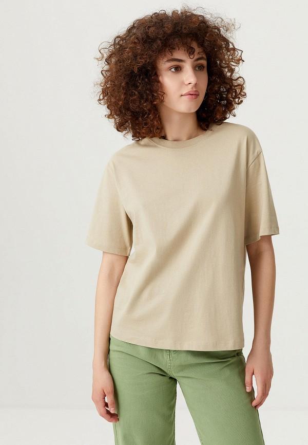 женская футболка sela, хаки