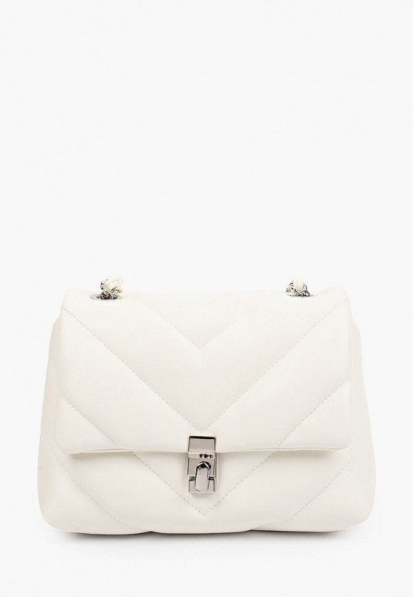 женская сумка через плечо thomas munz, белая