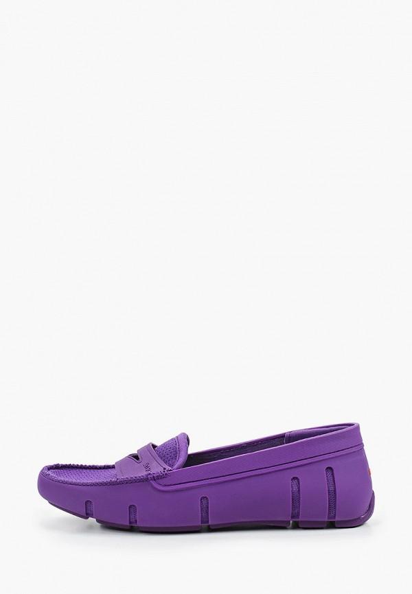 женские мокасины swims, фиолетовые