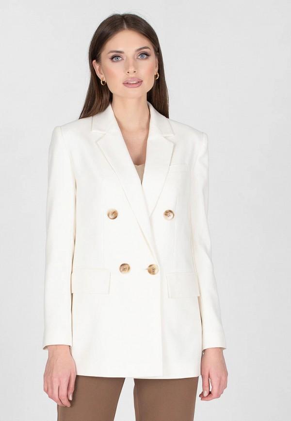 женский пиджак eliseeva olesya, белый