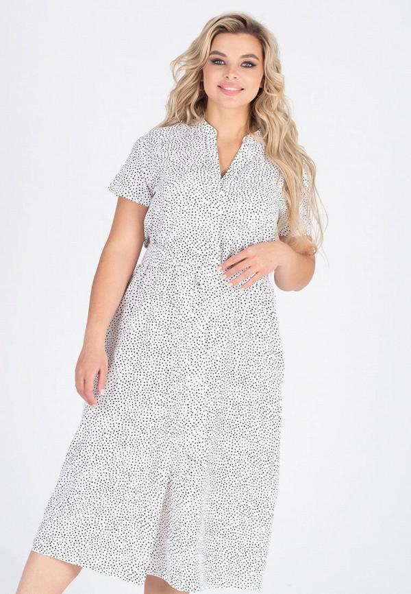 женское повседневные платье eliseeva olesya, белое