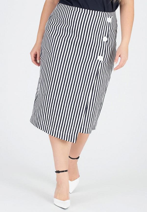 женская прямые юбка eliseeva olesya, разноцветная