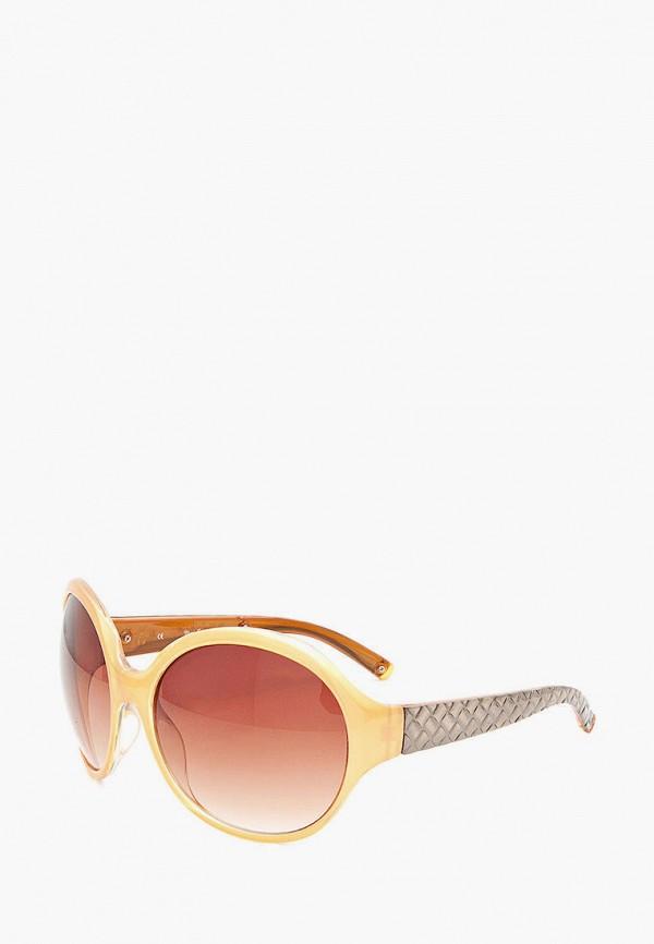 женские круглые солнцезащитные очки mr, желтые