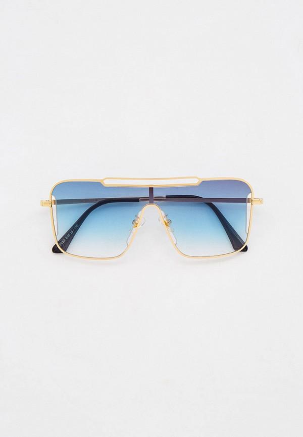 женские авиаторы солнцезащитные очки vitacci, зеленые