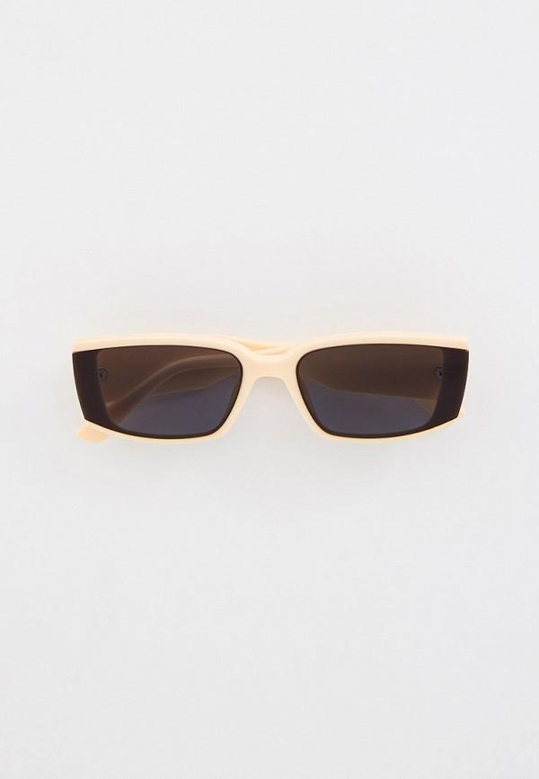 женские солнцезащитные очки vitacci, бежевые