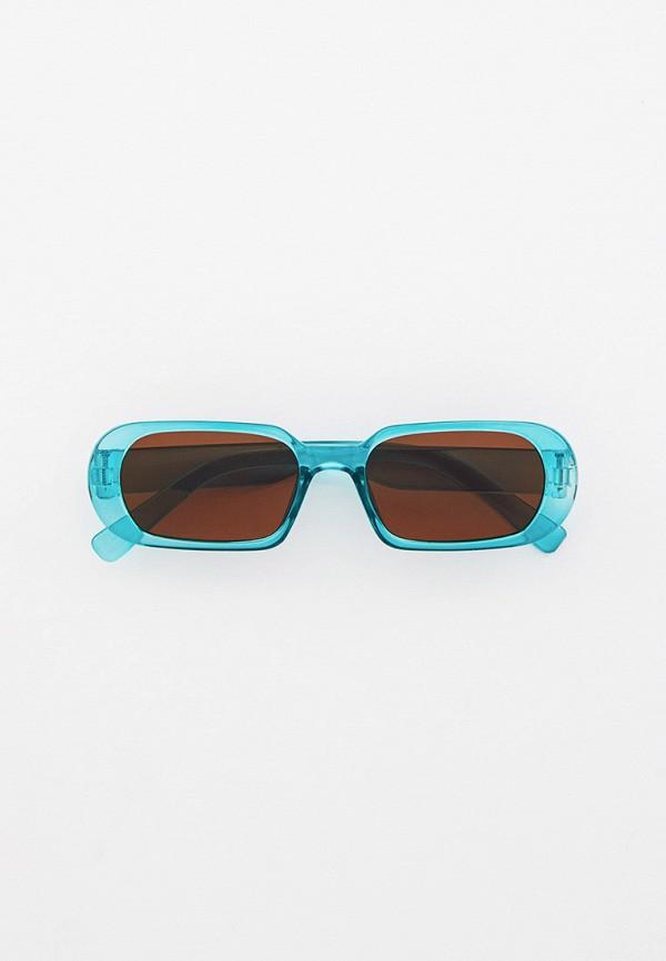 женские солнцезащитные очки vitacci, голубые