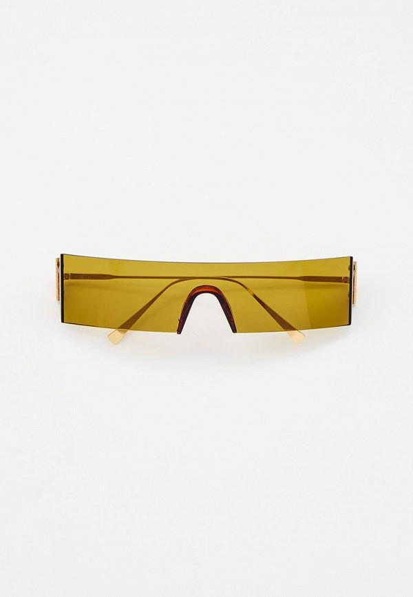 женские солнцезащитные очки vitacci, золотые