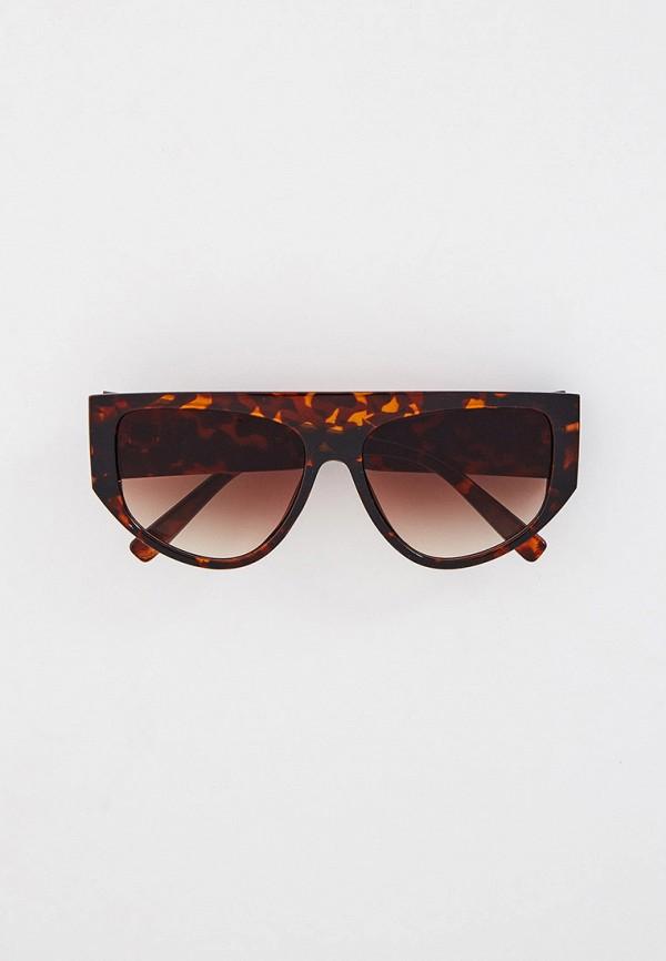 женские солнцезащитные очки vitacci, коричневые