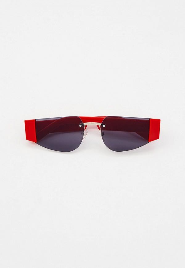 женские солнцезащитные очки vitacci, красные