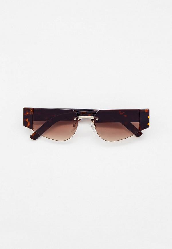 женские солнцезащитные очки vitacci, белые