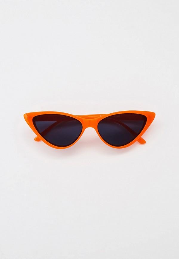 женские солнцезащитные очки кошачьи глаза vitacci, оранжевые