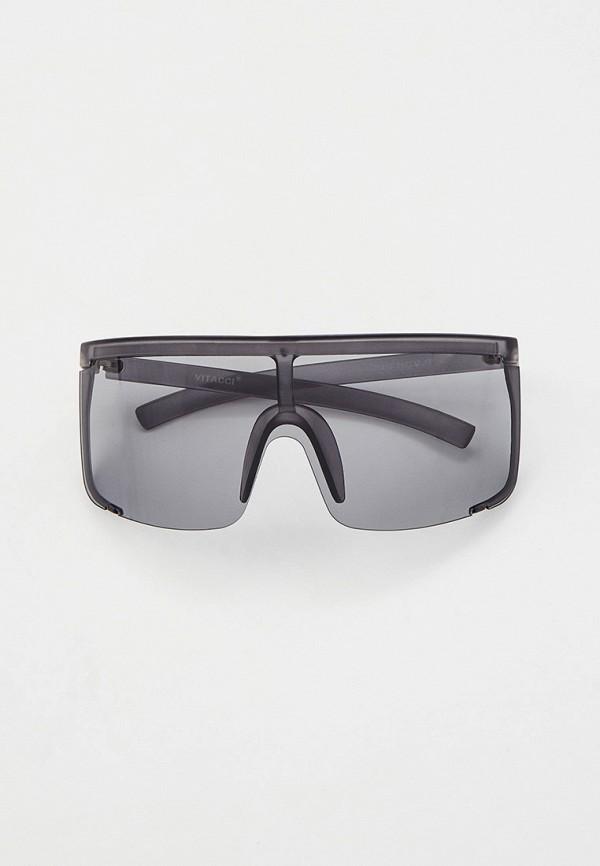 женские солнцезащитные очки vitacci, серые