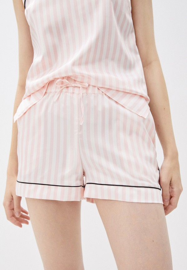 женские шорты love republic, розовые