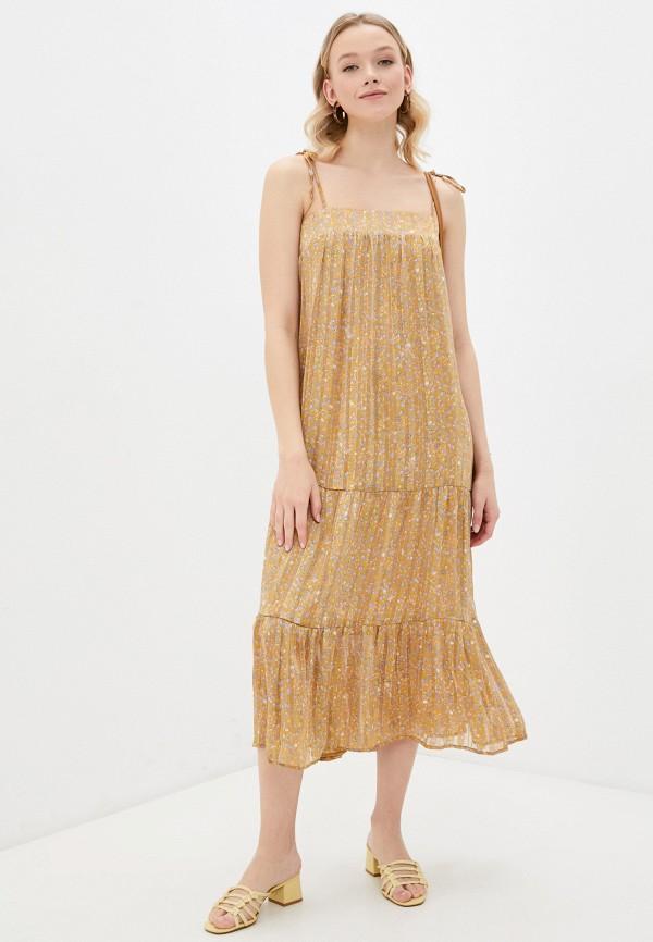 женский сарафан forus, золотой