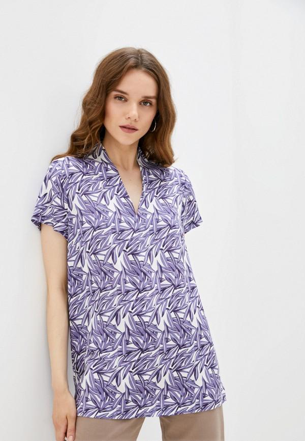 женская футболка eliseeva olesya, фиолетовая