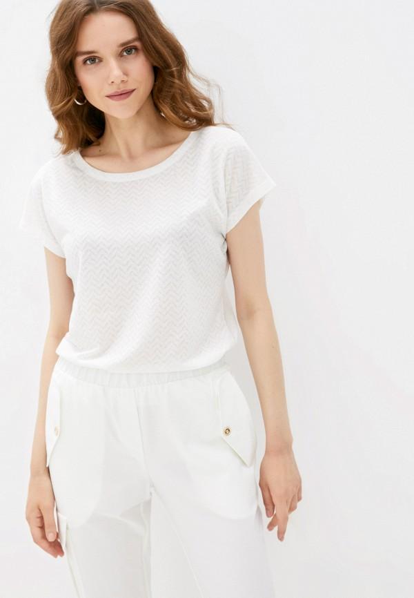 женская футболка eliseeva olesya, белая