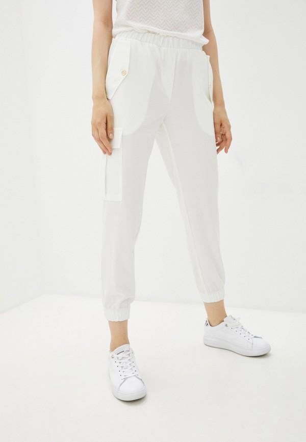 женские брюки джоггеры eliseeva olesya, белые