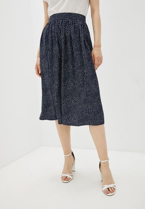 женская юбка-трапеции eliseeva olesya, синяя