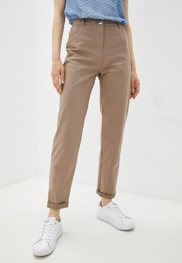 женские повседневные брюки eliseeva olesya, бежевые