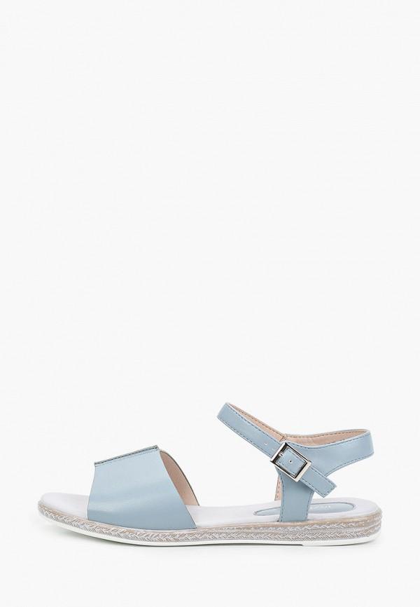 женские сандалии instreet, голубые