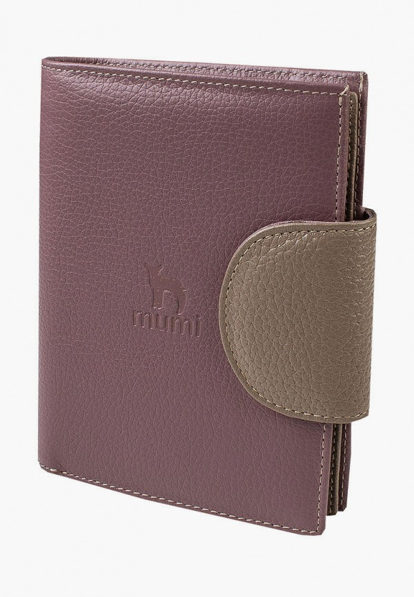 женский кошелёк mumi, коричневый