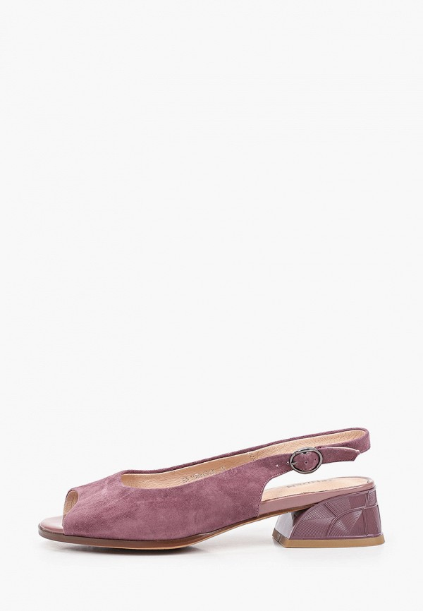 женские босоножки zenden, фиолетовые