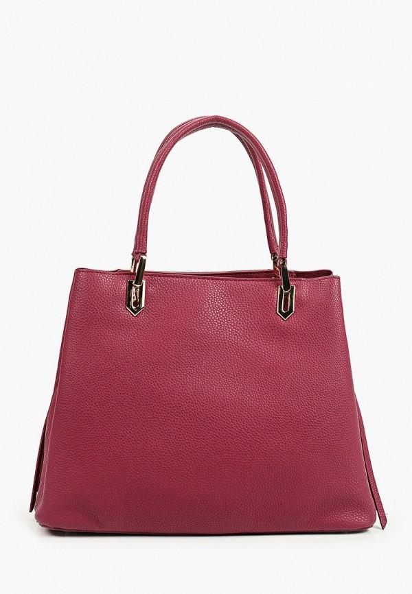 женская сумка с ручками zenden, бордовая
