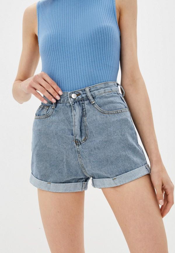 Шорты джинсовые Grafinia голубого цвета