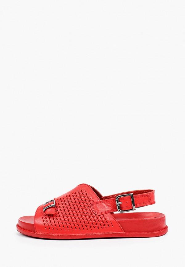 женские сандалии ascalini, красные