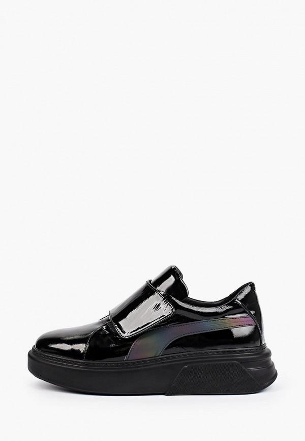 женские низкие кроссовки ascalini, черные